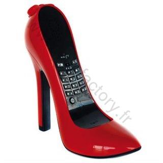 Telephone escarpin talon aiguille rouge 1 f te de no l images musique et vid o - Idee de cadeau pour noel ado ...