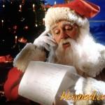 Père Noël et sa liste - Résolution: 1600×1200 pixels