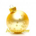 Boule de Noël - Résolution: 1600×1124 pixels