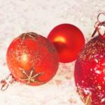 Boules de Noël - Résolution: 1600×1200 pixels
