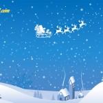 Images du Père Noël en traineau - Résolution: 1600×1200 pixels