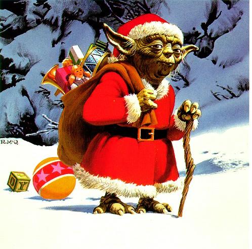 La Tournée du Père Noël 2011 Yoda-noel