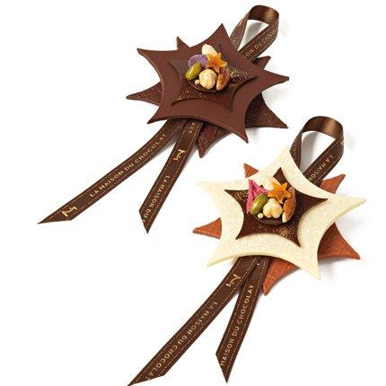 Le chocolat en d coration de no l f te de no l images for Decoration en chocolat